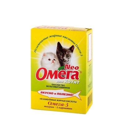 Омега Нео К-М для котят таурин+карнитин уп.60 табл