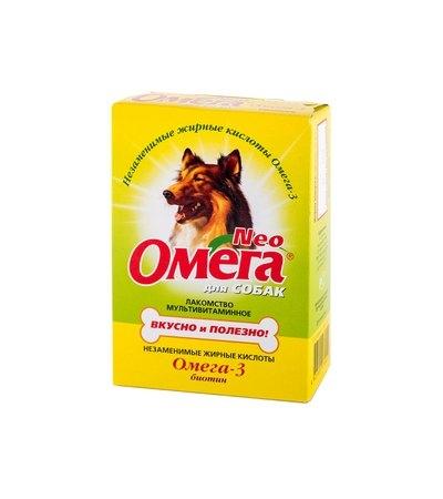 Омега Нео С-Б для собак биотин уп.90 табл.
