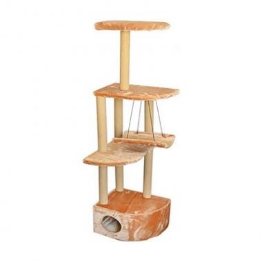 Домик-когтеточка 8370 Комплекс ЧИП Башня угловая с гамаком