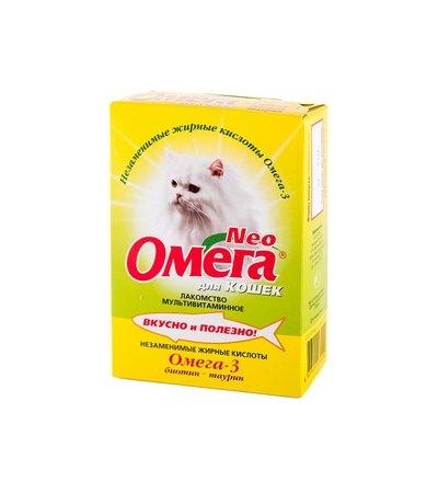 Омега Нео К-Б для кошек биотин+таурин уп.90 табл.