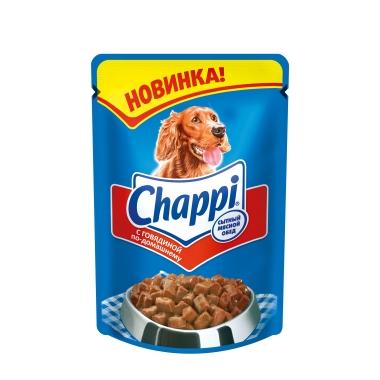 """Chappi влажный корм для собак """"Говядина по-домашнему"""" 100г"""