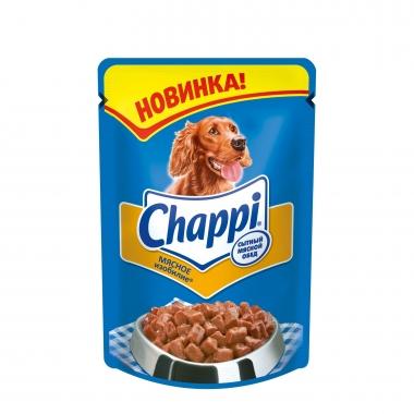 """Chappi влажный корм для собак """"Мясное изобилие"""" 100г"""