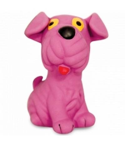 """Игрушка для собак из латекса """"Шарпей"""", 90мм"""