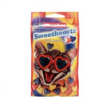 Лакомство Sweethearts для кошек и котят 150т
