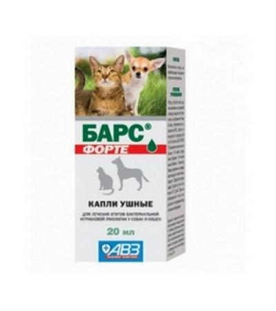 "Капли ""БАРС"" форте 20мл /ушные/"