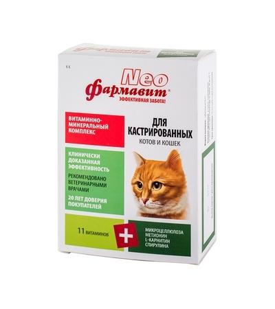 Фармавит Neo для кастрированных котов и кошек 60т