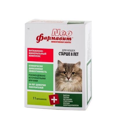 Фармавит Neo для кошек старше 8 лет 60т
