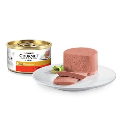 Gourmet (Гурмэ) Голд Паштет с говядиной  85г