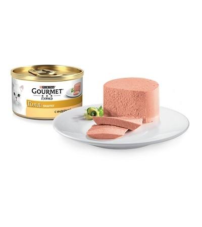 Gourmet (Гурмэ) Голд Паштет с индейкой 85г