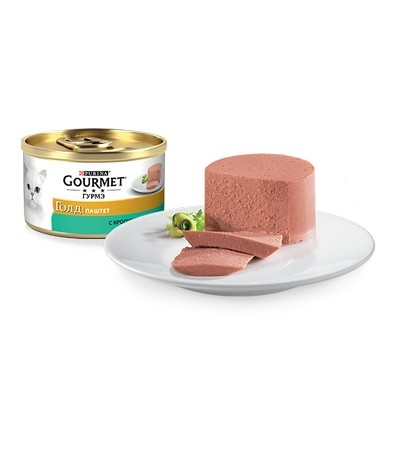 Gourmet (Гурмэ) Голд Паштет с кроликом 85г