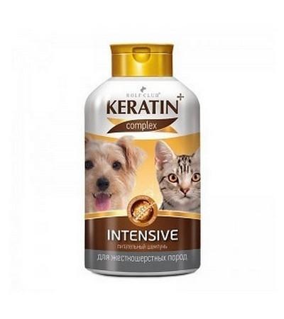 Шампунь KERATIN +Intensive для кошек и собак жесткошерстных 400мл
