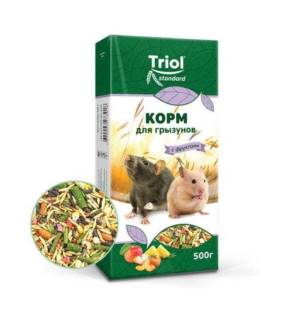 Корм Тriol Standard для грызунов с фруктами, 500г