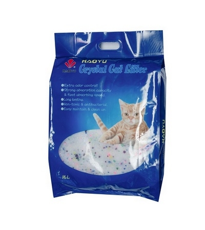 Наполнитель Crystal Cat 1,8кг силикагель