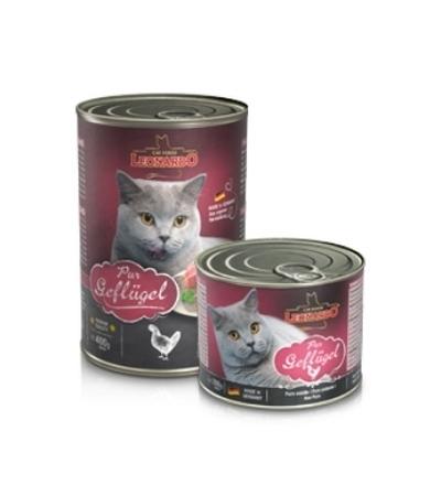 Leonardo Quality Selection конс. для кошек с птицей 400г