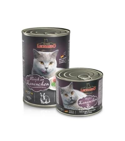 Leonardo Quality Selection конс. для кошек с кроликом 400г