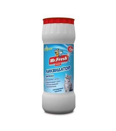 Ликвидатор запаха для кош. туалетов MF Expert 2в1 500г (порошок)