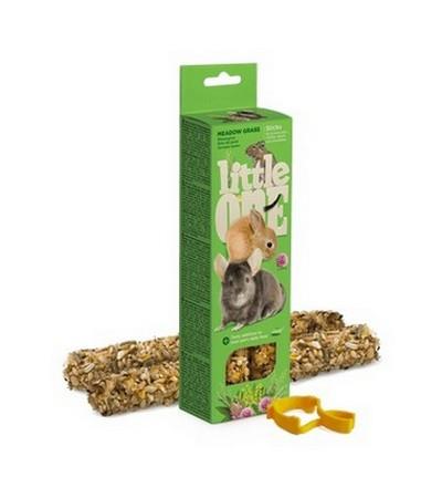 Little One. Палочки для морских свинок, кроликов, дегу и шиншилл с луговыми травами