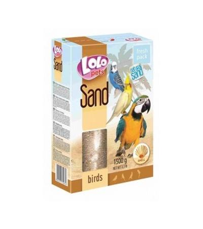 Ло-Ло Петс Песок для птиц с ракушками 1,5кг