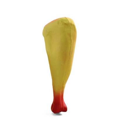 """Игрушка для собак из латекса """"Куриная ножка"""", 150мм"""
