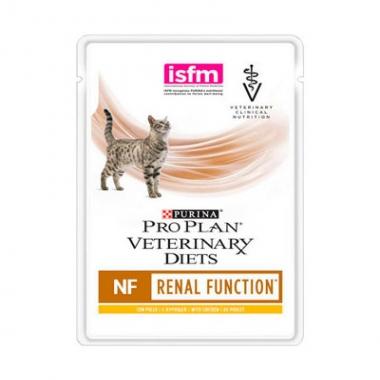 PRO PLAN® VETERINARY DIETS NF RENAL FUNCTION для кошек при патологии почек, с курицей