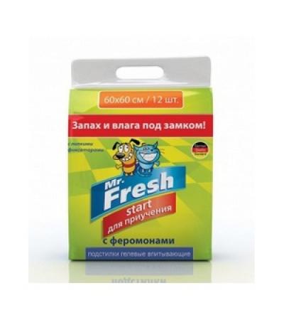 Пеленки для приучения к месту Mr.Fresh Start 40*60 15шт