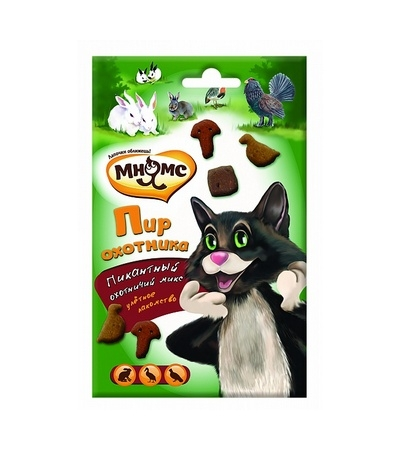 Зубное Лакомство Пир охотника для кошек 50 г
