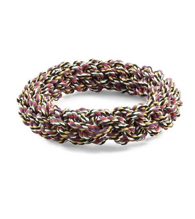 """Игрушка для собак """"Веревка-плетеное кольцо"""", 200мм"""