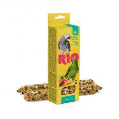 RIO Палочки для попугаев с фруктами и ягодами 2х90г