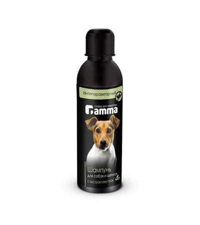 Шампунь для собак и щенков антипаразитарный с экстрактом трав 250мл