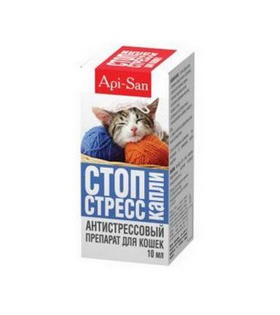 Стоп-Стресс для кошек капли 10мл