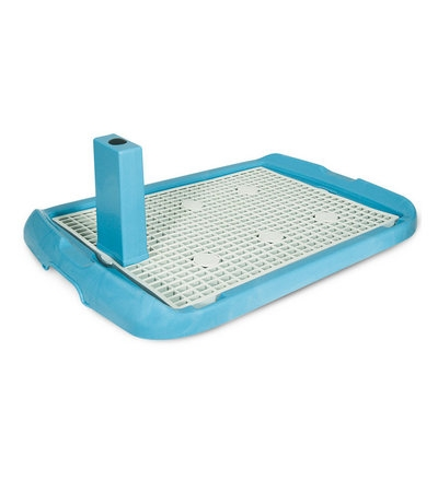 Туалет PL001 для собак со столбиком, 700*470*40мм