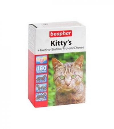 "Вит. ""Beaphar"" д/кошек MIX /180т./"