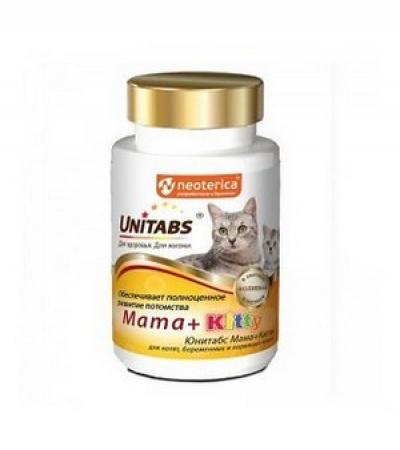 Юнитабс для кошек и котят Mama + Kitty