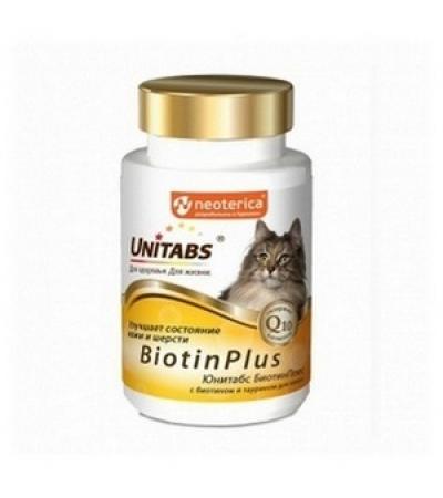 Юнитабс для кошек BiotinPlus 120т