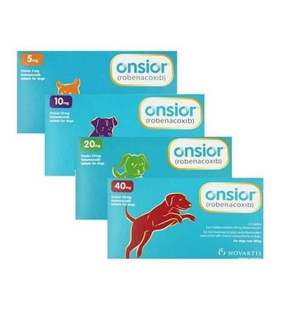 Онсиор 5 мг для собак и кошек 1 таблетка (уп.28 таблеток)
