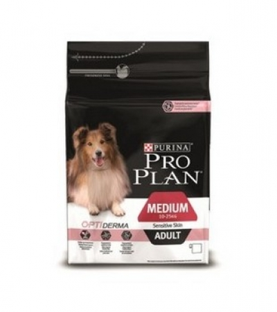 Pro Plan Medium Adult Sensitive Skin Dog 14кг