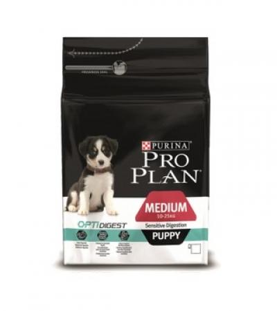 Pro Plan Medium Sensitive Digestion Puppy 12кг