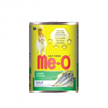 """Корм консервированный для кошек """"Ме-О"""", сардина в желе, 400г"""