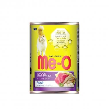 """Корм консервированный для кошек """"Ме-О"""", морепродукты в желе, 400г"""