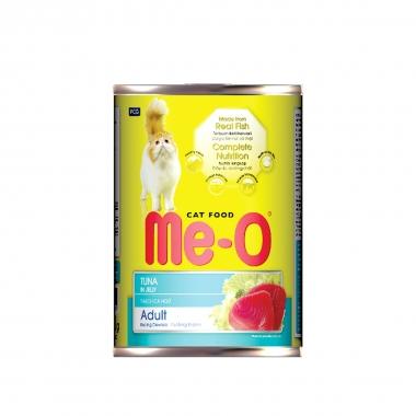 """Корм консервированный для кошек """"Ме-О"""", тунец в желе, 400г"""